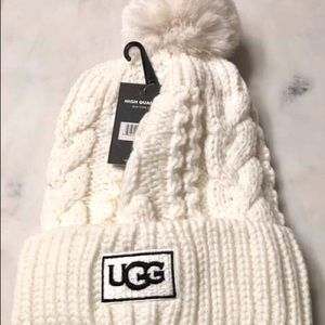 Ugg beanie wool thick